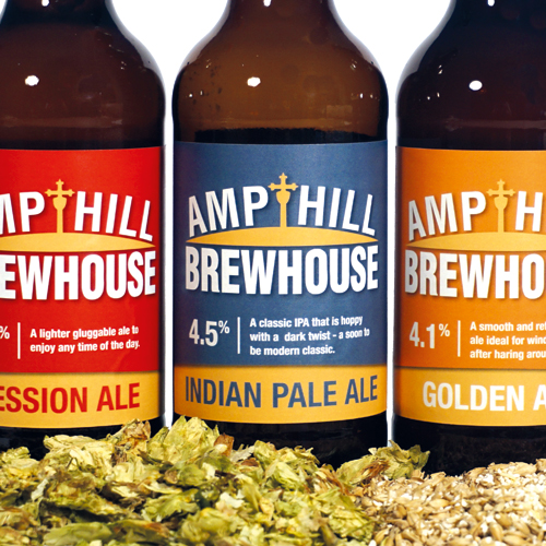 Branding Ampthill Brewhouse