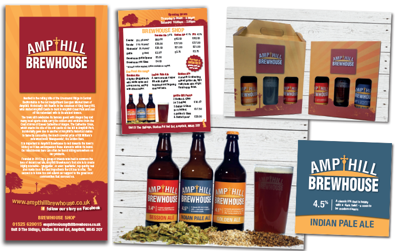 Brewery marketing, design and print