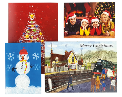 Personalised Xmas card printing