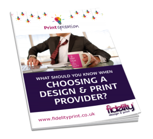 choosing a design and print provider guide