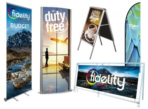 large-format digital printing for exhibition, display and point of sale