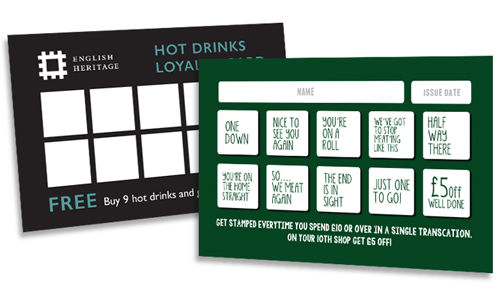 loyalty card print marketing